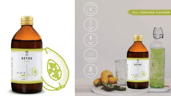 """integratore dimagrante e antiossidante """"Detox clenaser"""" di N2 Natural Nutrition"""