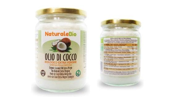 recensione dell'olio di cocco biologico extra vergine di naturalebio